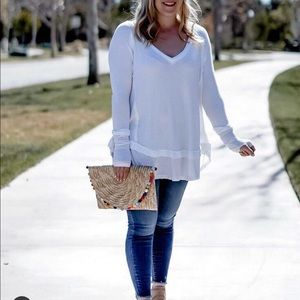 Free People Laguna layered thermal tunic